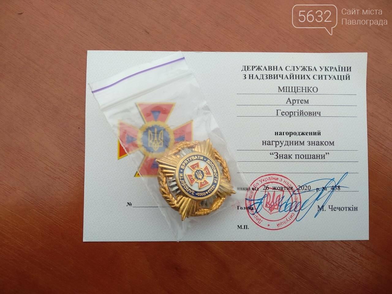Павлоградским и терновским спасателям, тушившим пожары в Луганской области, вручили ведомственные награды, фото-8