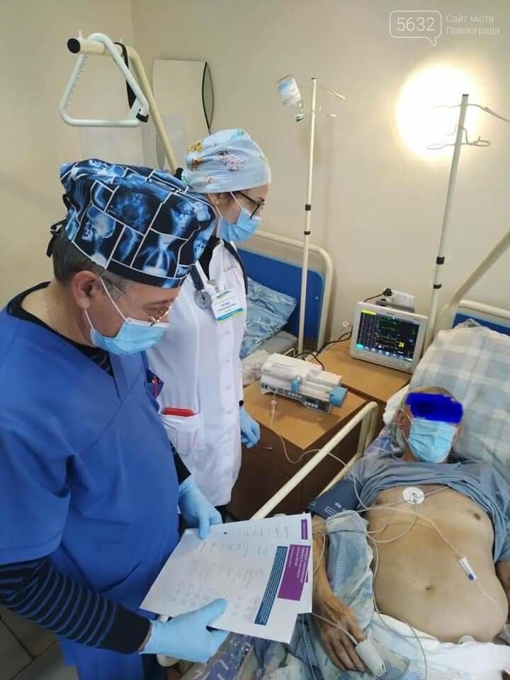 В больнице интенсивного лечения Павлограда идёт борьба не только с коронавирусом, но и с инсультами, фото-1