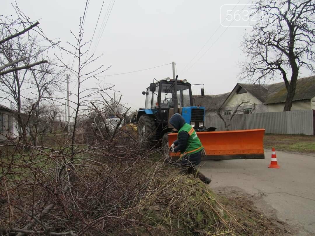 Павлоградские коммунальщики начали плановую «зачистку» улицы Восстания, фото-2