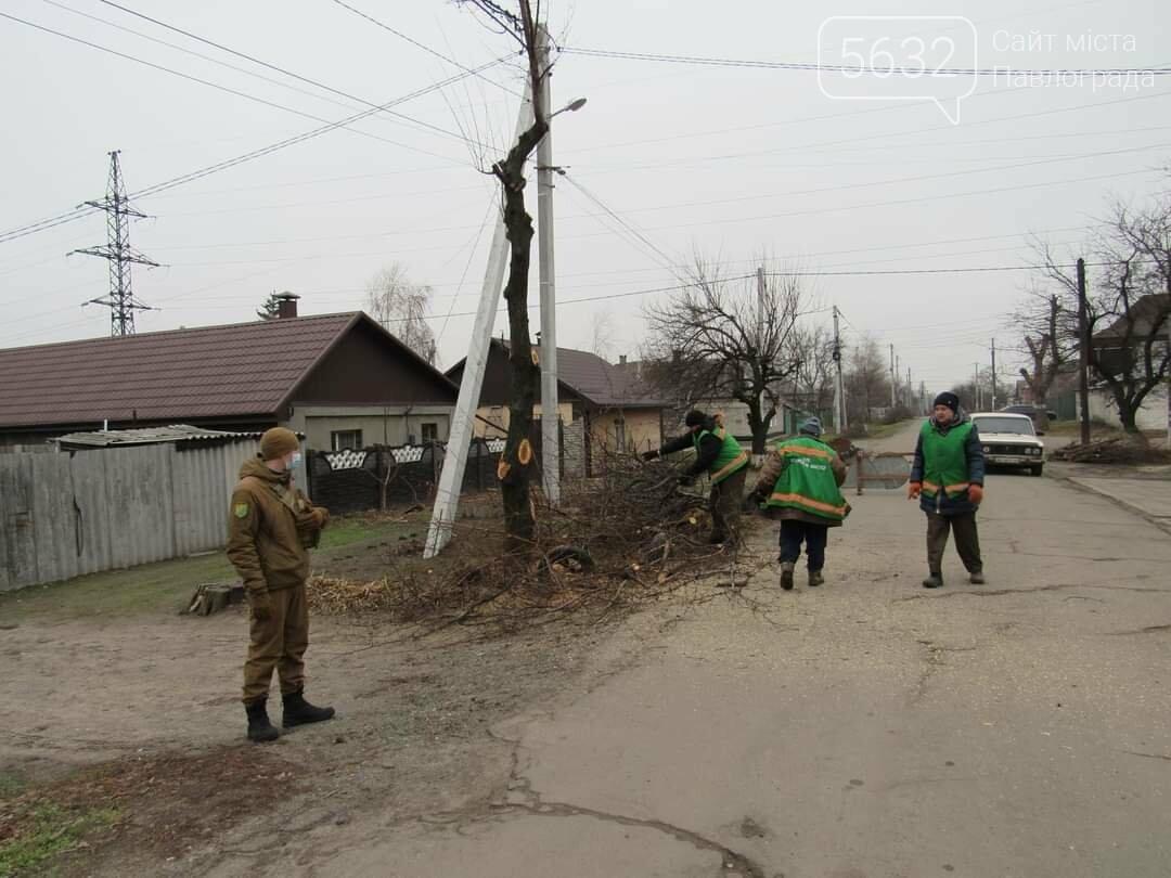 Павлоградские коммунальщики начали плановую «зачистку» улицы Восстания, фото-6