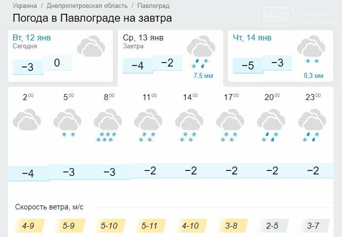 На Старый Новый год Павлоград заметёт снегом, фото-1