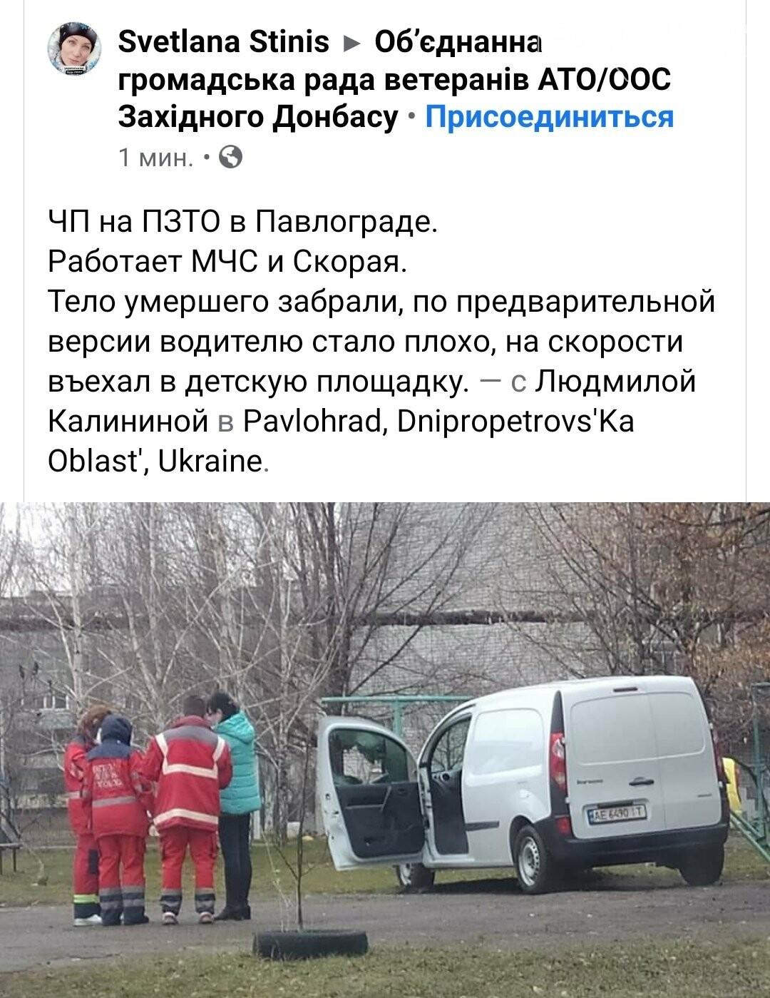 В Павлограде водитель въехал в детскую площадку (ФОТО), фото-4