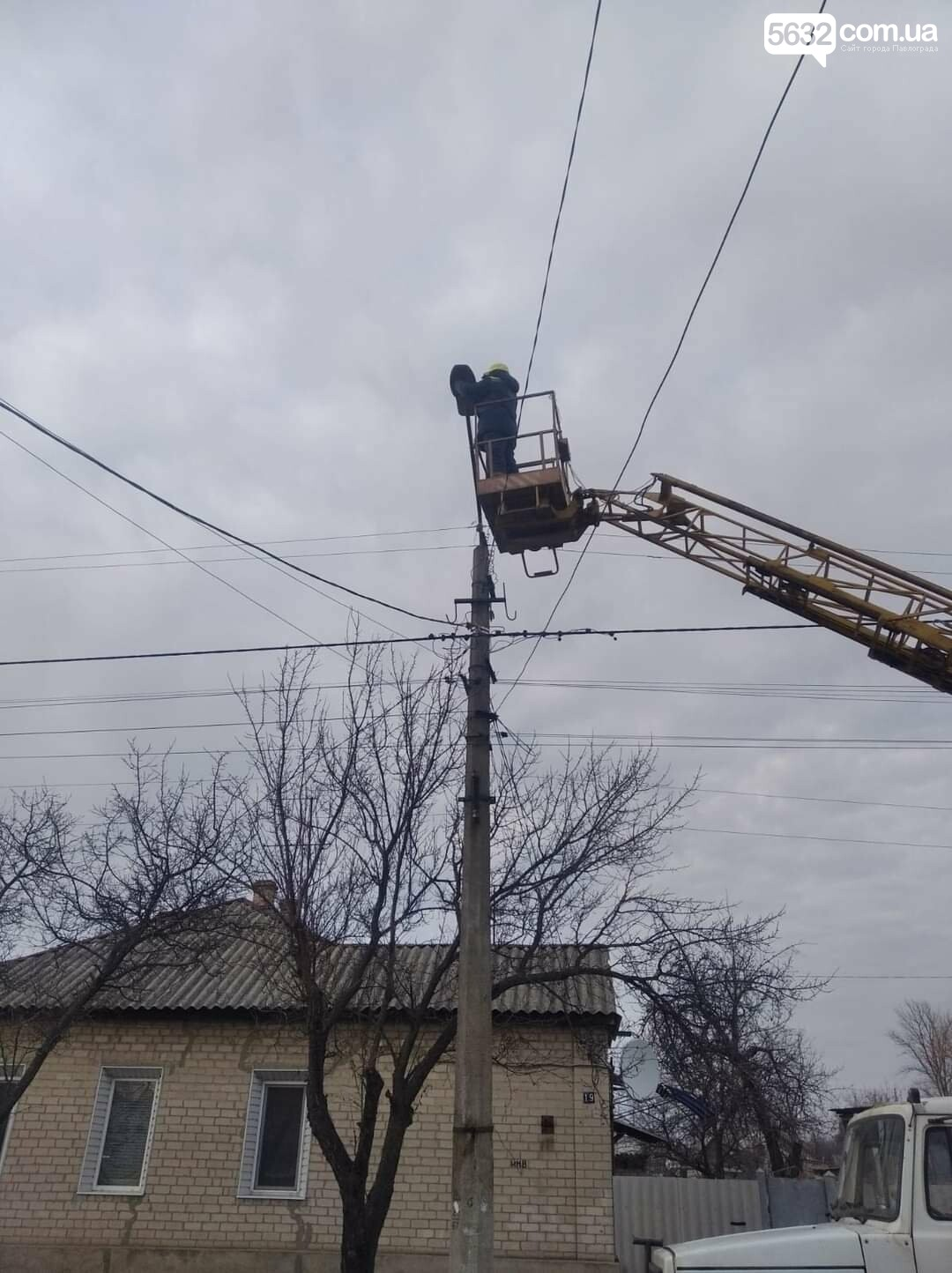 В Павлограде продолжаются работы по модернизации уличного освещения в частном секторе, фото-1
