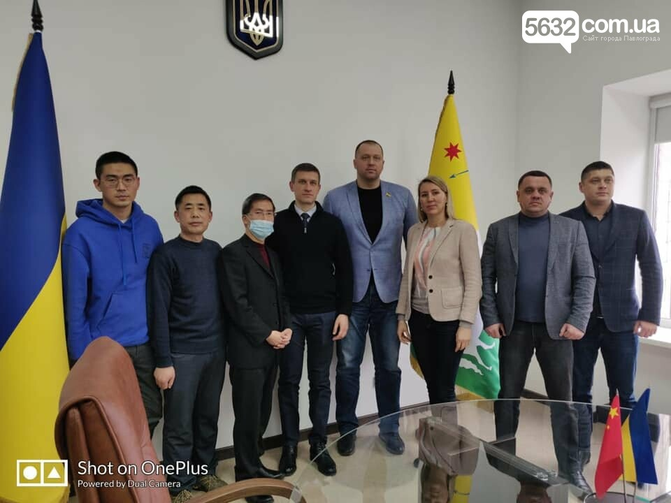 На территории Павлограда китайские инвесторы планируют разместить промышленное производство, фото-1