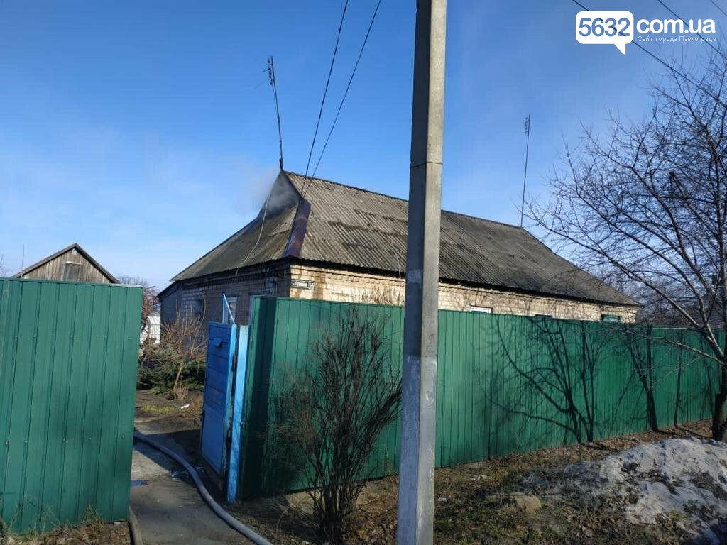 В селе Богдановка горела крыша частного дома, фото-1