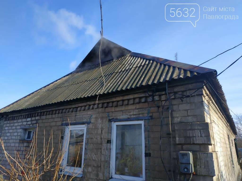 В селе Богдановка горела крыша частного дома, фото-2