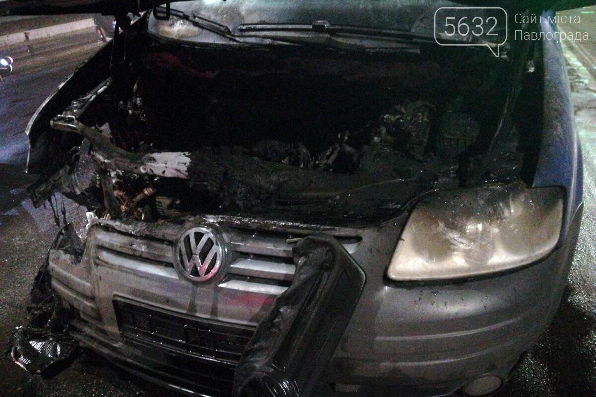 В Павлограде посреди трассы загорелся автомобиль (ФОТО, ВИДЕО), фото-3