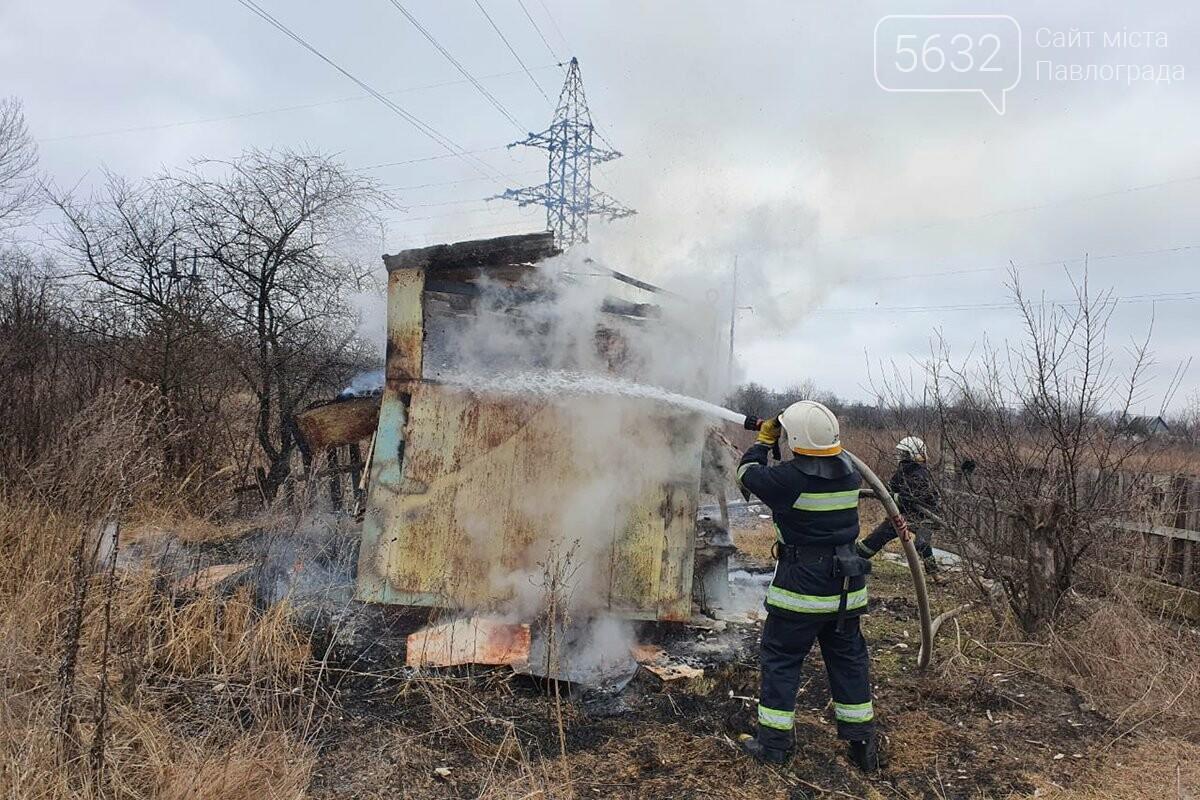 В Павлограде горел заброшенный дачный домик, фото-1