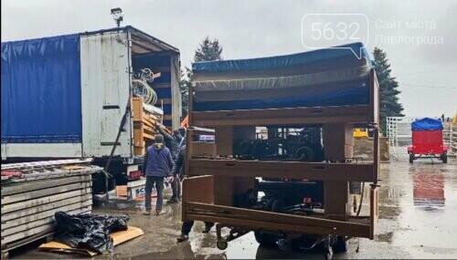 Павлоград получил вторую партию гуманитарной помощи из Германии, фото-1