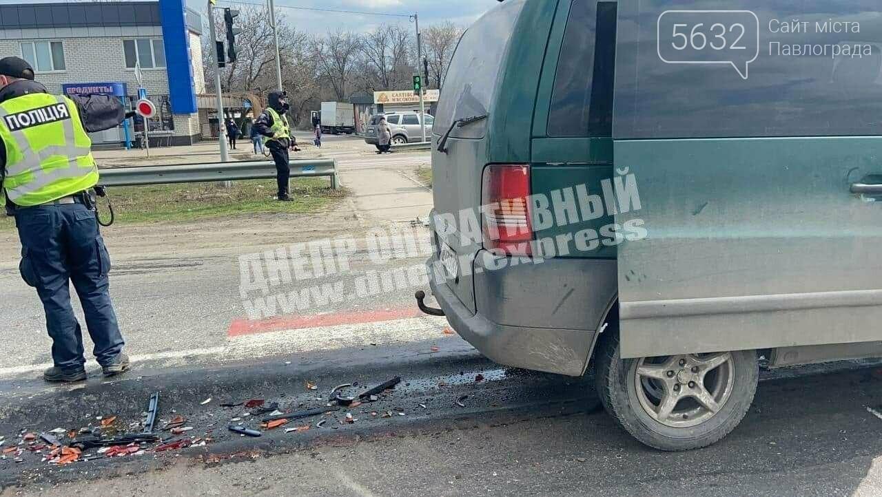 На трассе Днепр-Павлоград столкнулись два автомобиля: есть пострадавший, фото-2