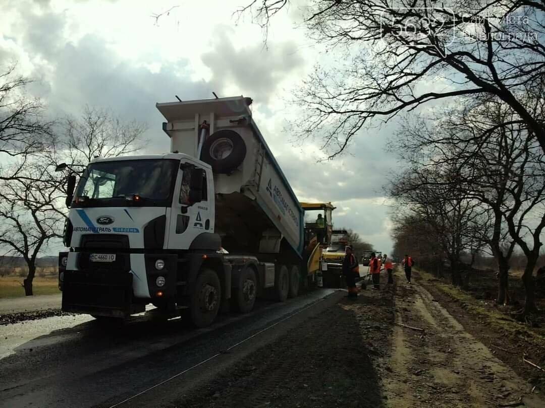 В сети показали фото ремонтных работ на дороге Петропавловка-Павлоград, фото-3
