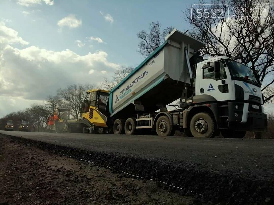 В сети показали фото ремонтных работ на дороге Петропавловка-Павлоград, фото-4