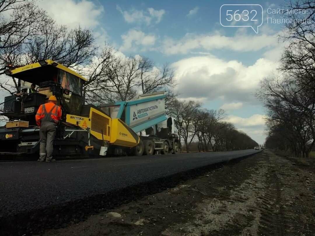 В сети показали фото ремонтных работ на дороге Петропавловка-Павлоград, фото-5