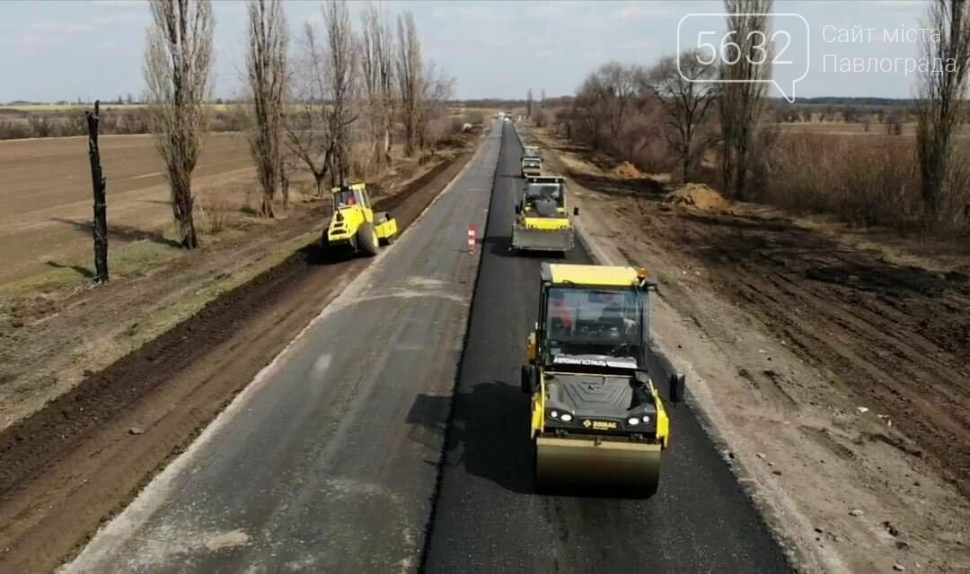 В сети показали фото ремонтных работ на дороге Петропавловка-Павлоград, фото-2