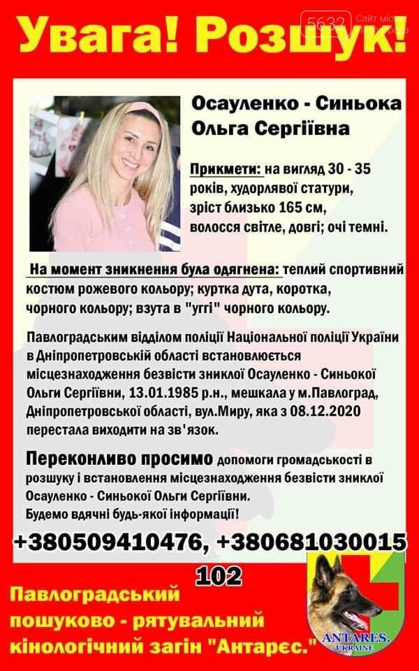 118 дней со дня исчезновения: что известно о поисках без вести пропавшей Ольги Синеокой-Осауленко?, фото-1