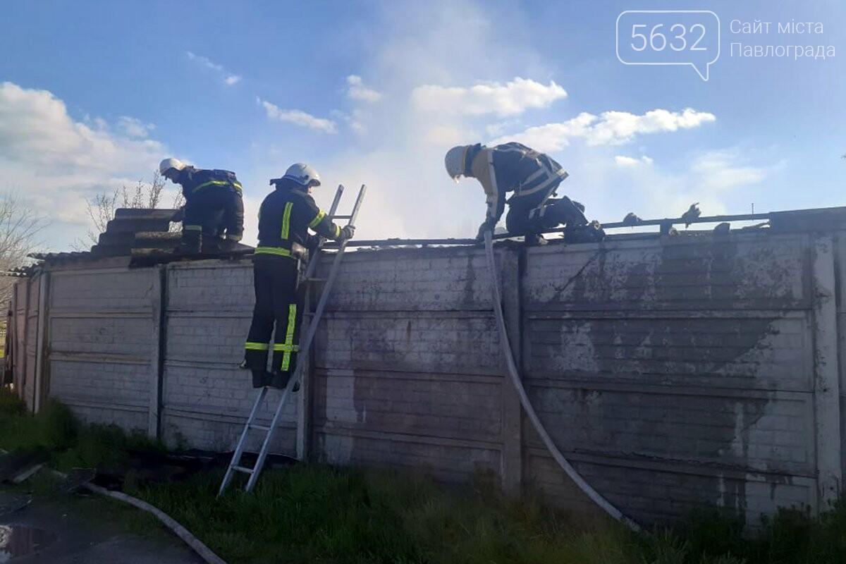 В Павлограде горел сарай на территории частного дома (ВИДЕО), фото-2