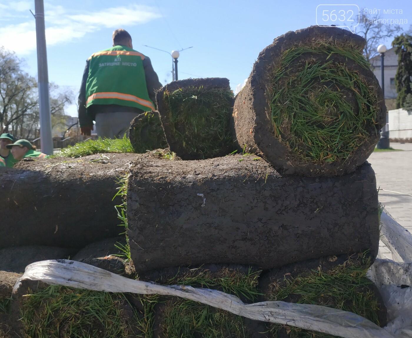 На Аллее Славы в Павлограде заканчиваются работы по укладке газона (ФОТОФАКТ), фото-5