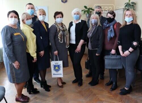Павлоград посетила делегация из Никополя для обмена опытом, фото-1