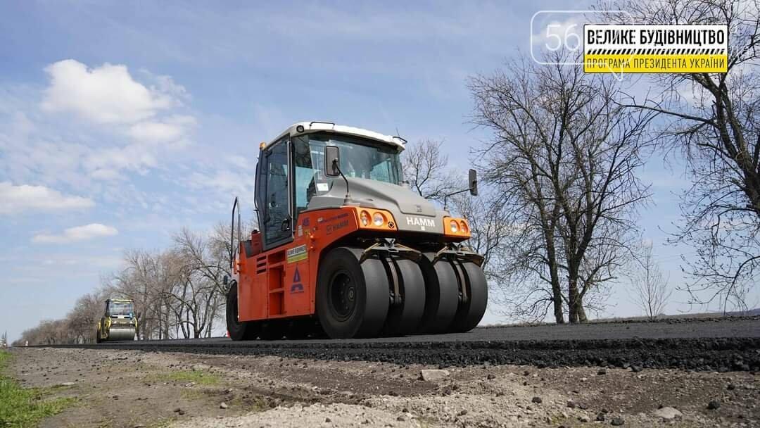 Под Павлоградом полным ходом идут ремонтные работы на трассе М-04 (ФОТО), фото-12
