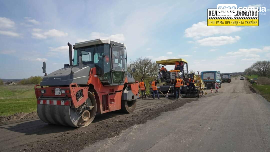 Под Павлоградом полным ходом идут ремонтные работы на трассе М-04 (ФОТО), фото-26
