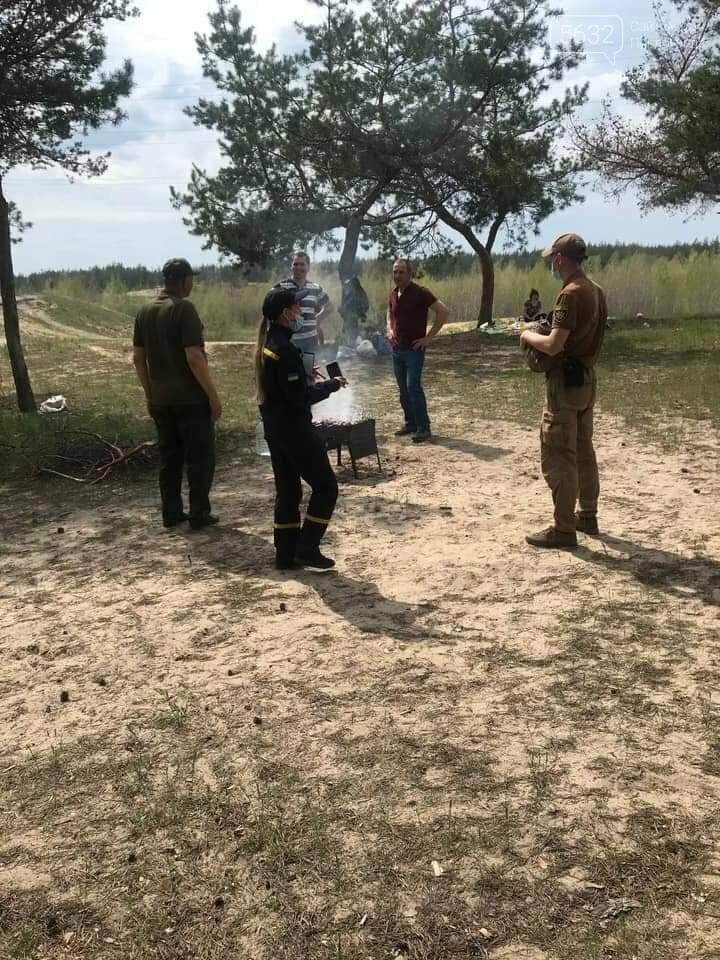 В лесах Павлоградщины прошли профилактические рейды по выявлению открытых очагов (ФОТО), фото-1