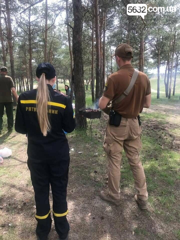 В лесах Павлоградщины прошли профилактические рейды по выявлению открытых очагов (ФОТО), фото-4
