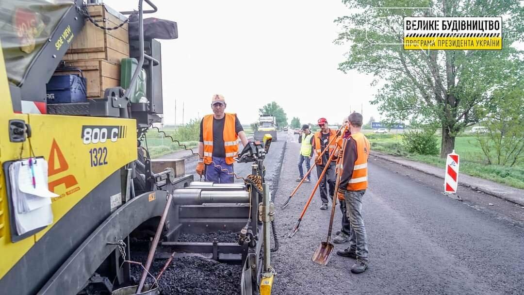 Работа кипит: на трассе Днепр-Павлоград-Покровск ведутся ремонтные работы (ФОТО), фото-11