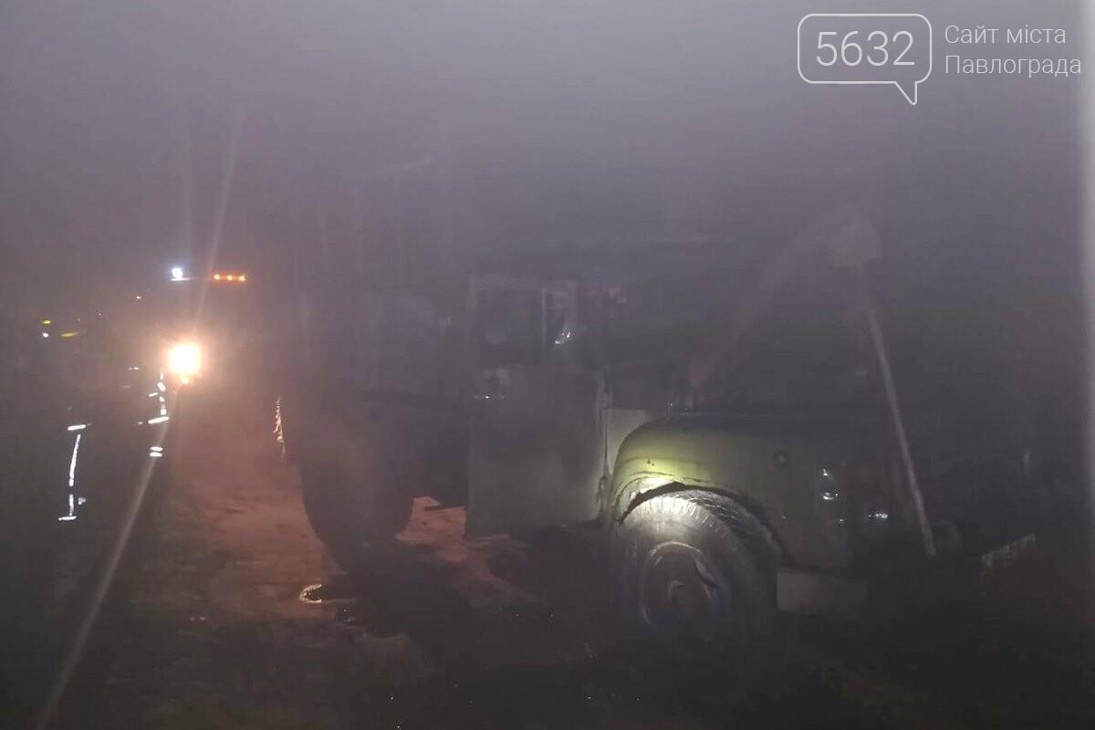 В селе Булаховка посреди улицы загорелся грузовик, фото-2