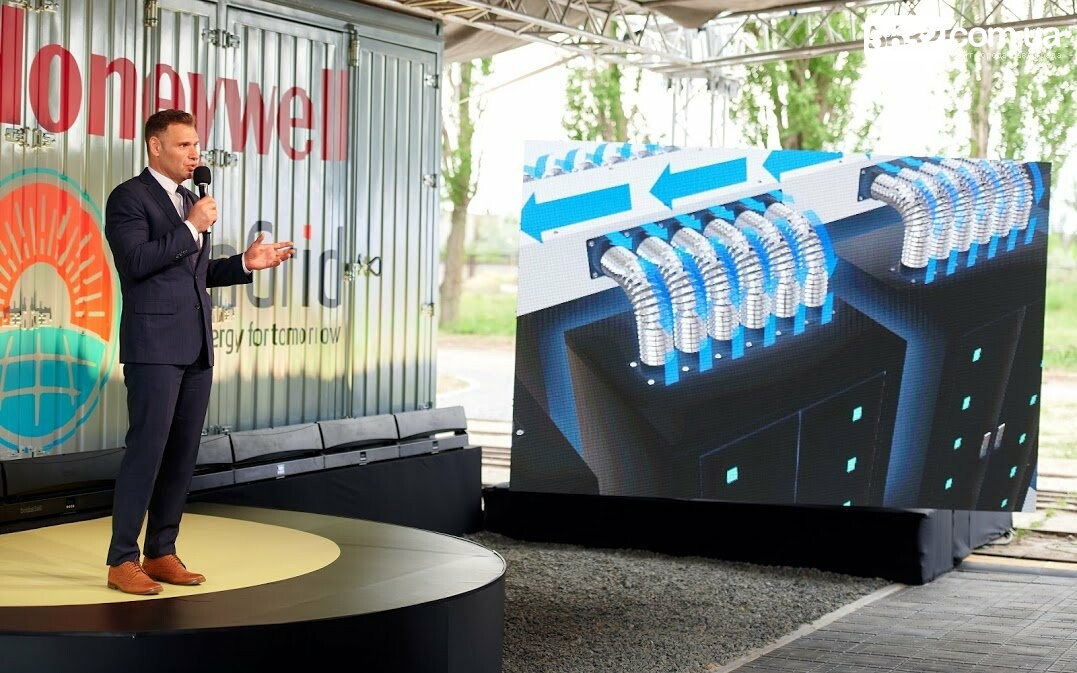 Историческое событие: в Украине запустили первую промышленную систему накопления энергии, фото-28