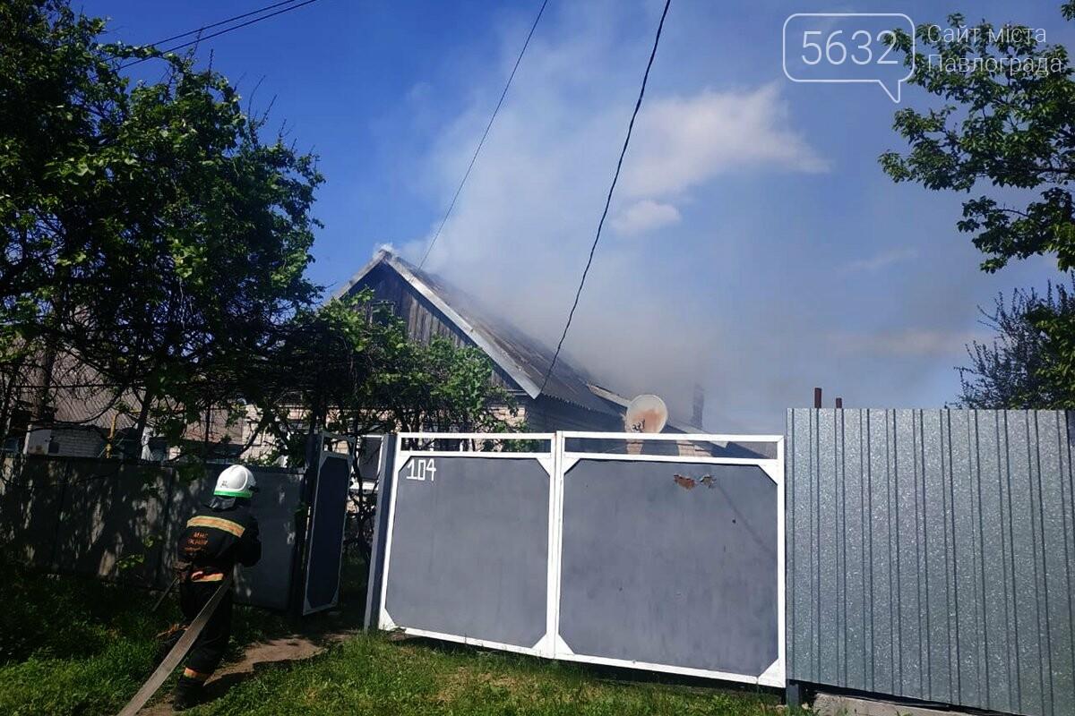 В селе Межирич сгорела крыша частного дома (ФОТО), фото-1