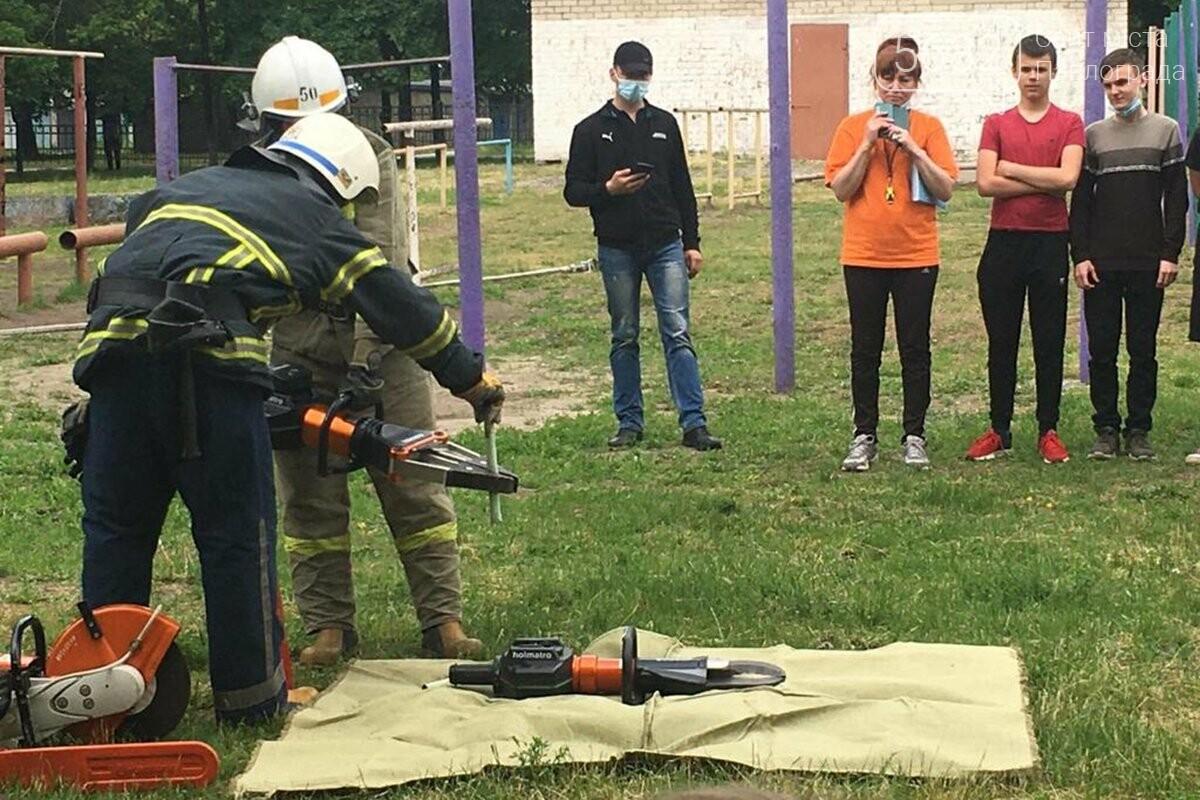Школьники Терновки и Вязовка смогли почувствовать себя настоящими спасателями (ФОТО), фото-4