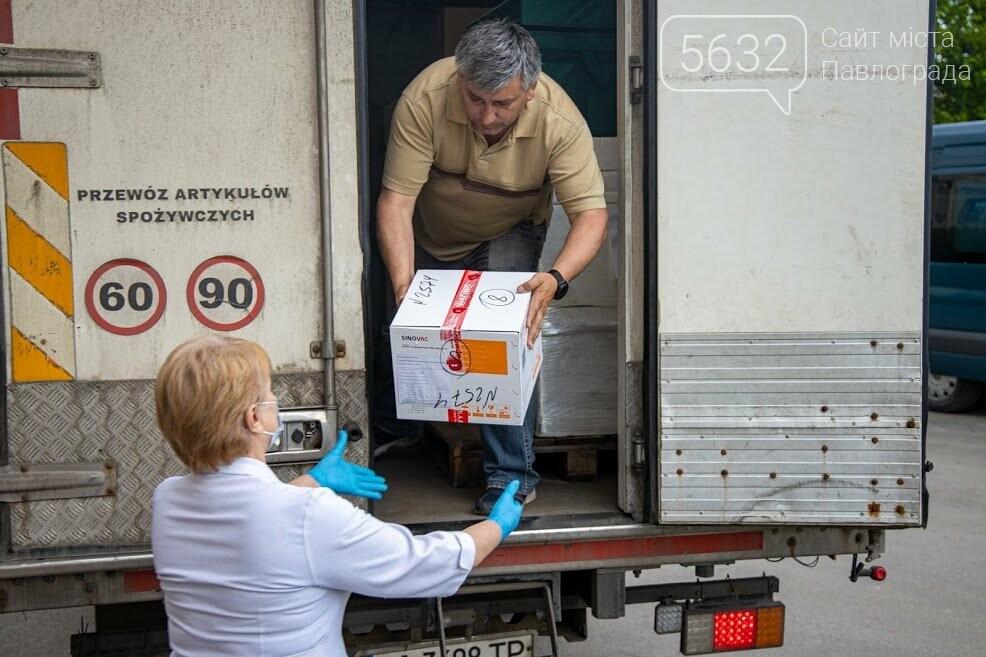 На Днепропетровщину поступило еще 8,6 тыс. доз вакцины CoronaVac, фото-1