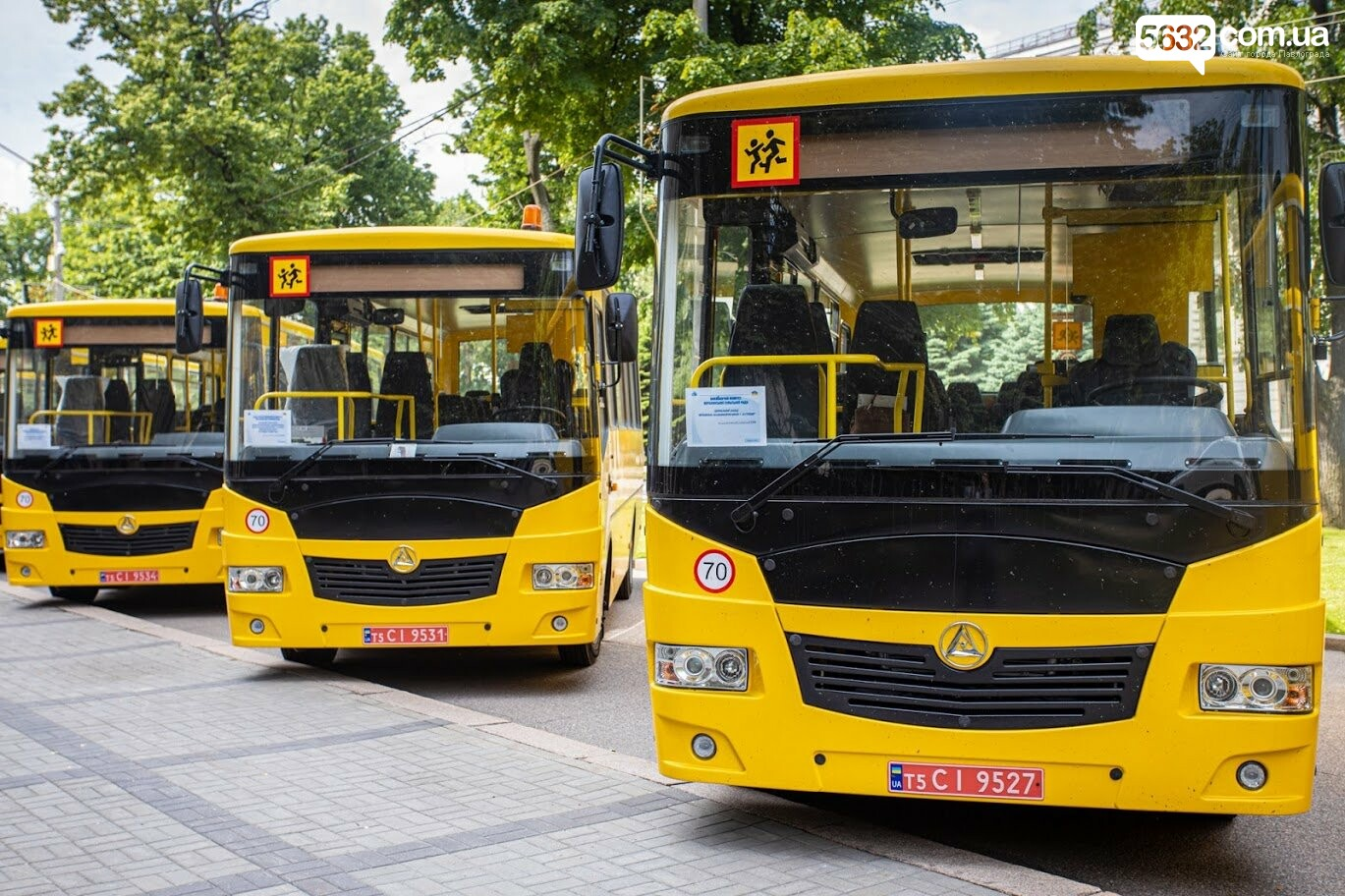 13 новых школьных автобусов отправились в сельские учебные учреждения Днепропетровщины (ФОТО), фото-1