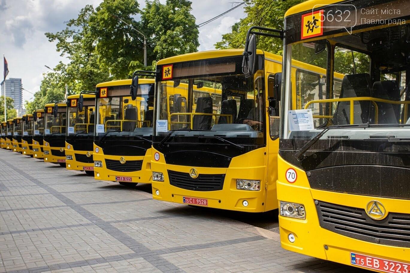13 новых школьных автобусов отправились в сельские учебные учреждения Днепропетровщины (ФОТО), фото-7