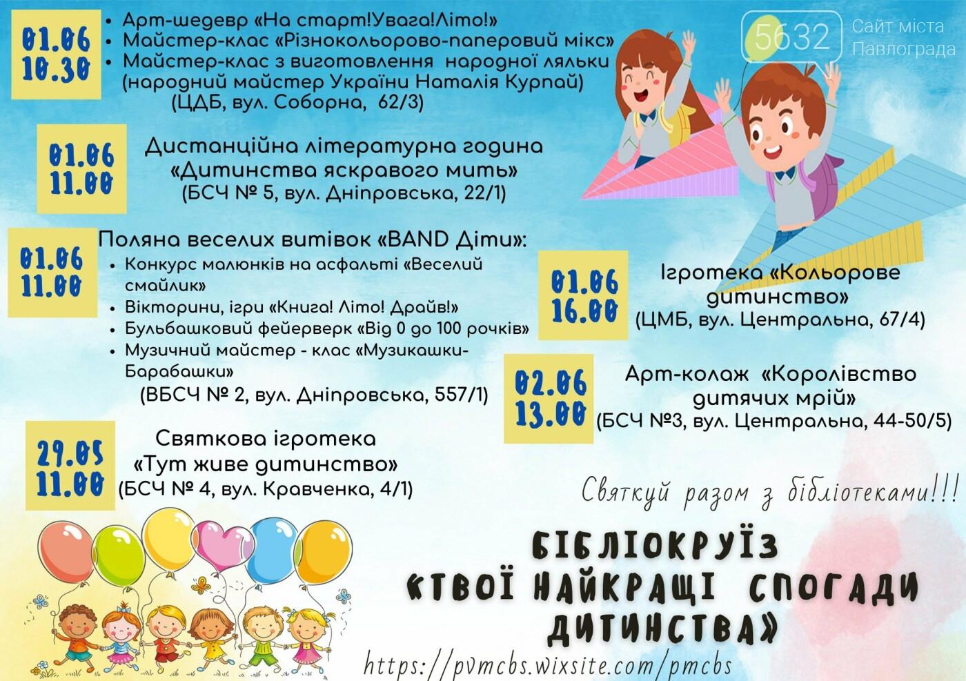 Библиотеки Павлограда готовятся отмечать День защиты детей (ПРОГРАММА), фото-1