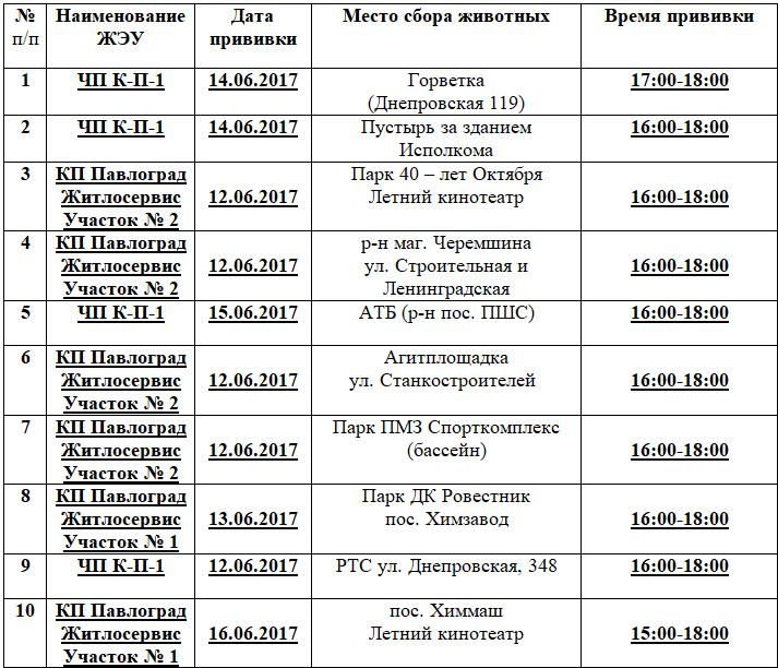В Павлограде проводят вакцинацию домашних животных, фото-1
