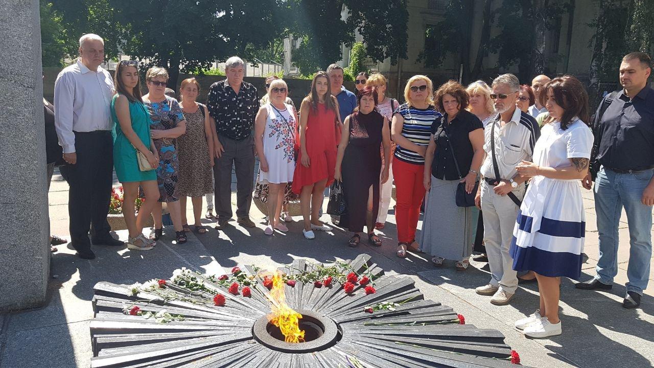 На Днепропетровщине команда Александра Вилкула почтила память павших в Великой Отечественной войне, фото-3