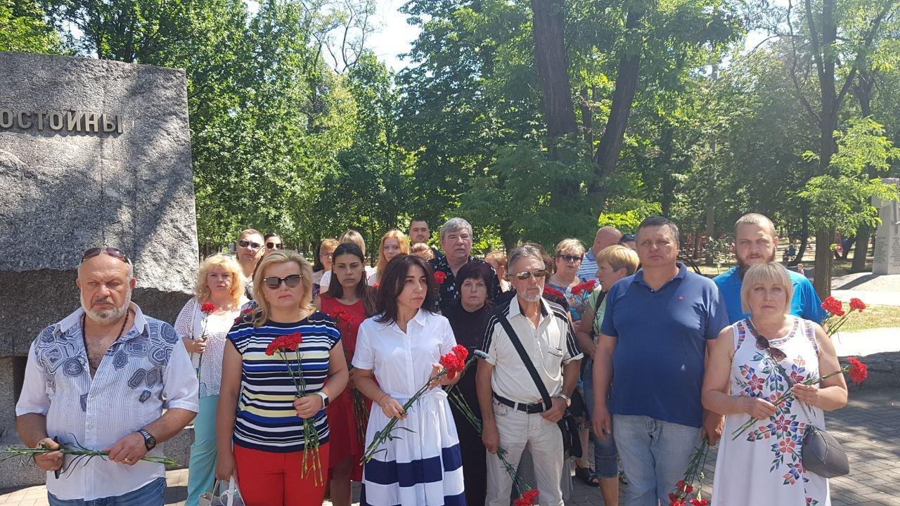 На Днепропетровщине команда Александра Вилкула почтила память павших в Великой Отечественной войне, фото-5