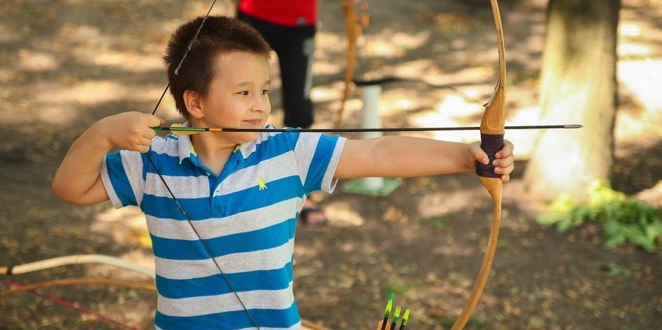 Майстер-клас зі стрільби з лука провели для учасників АТО в Дніпрі, фото-3