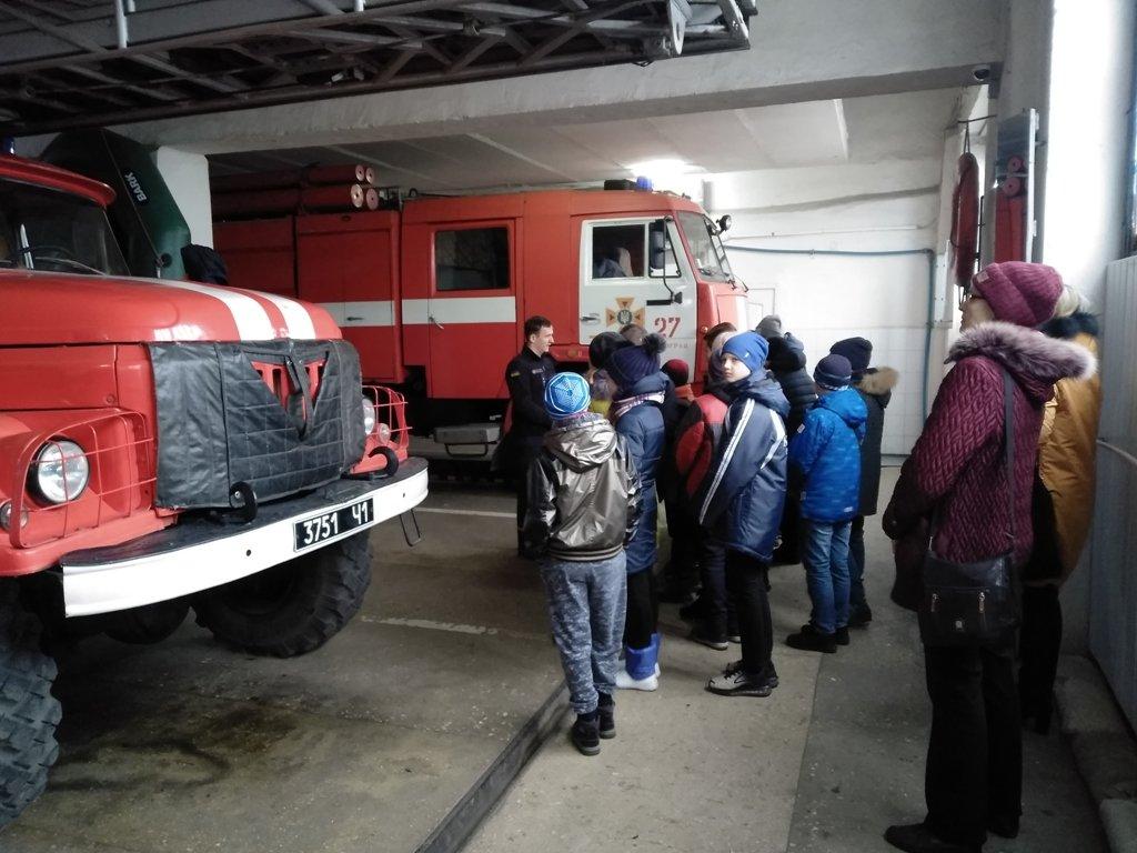 Павлоградские шестиклассники побывали в гостях у спасателей , фото-1