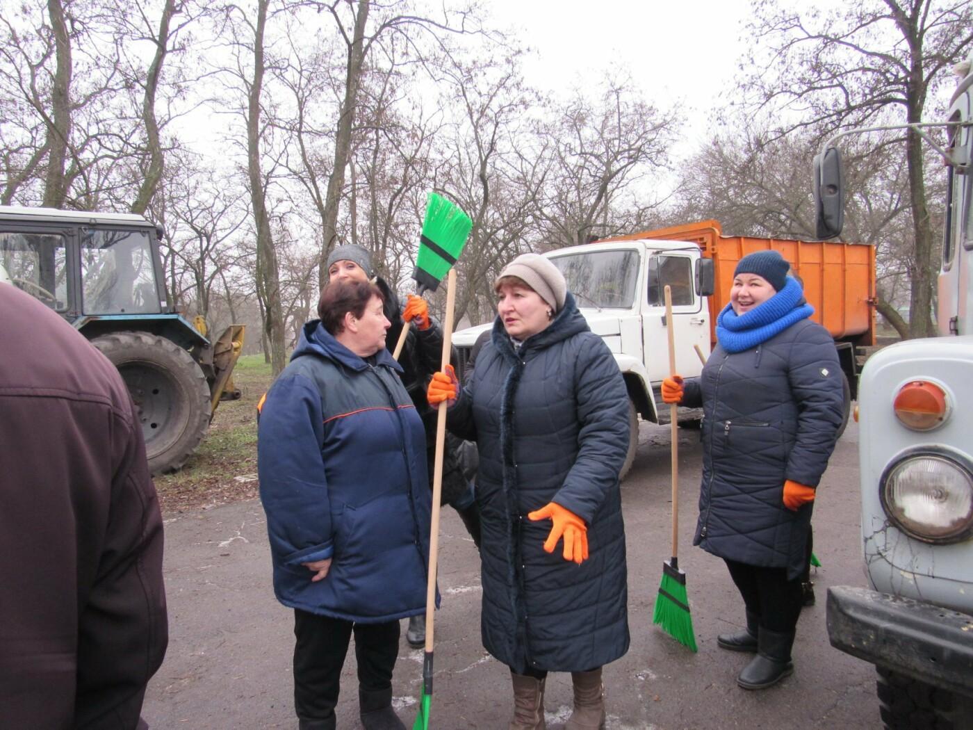 В Павлограде прошла акция по уборке одного из микрорайонов  , фото-2
