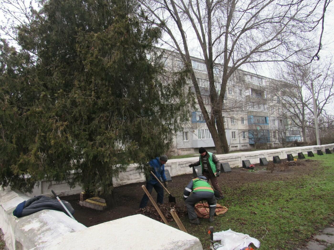 В Павлограде прошла акция по уборке одного из микрорайонов  , фото-3