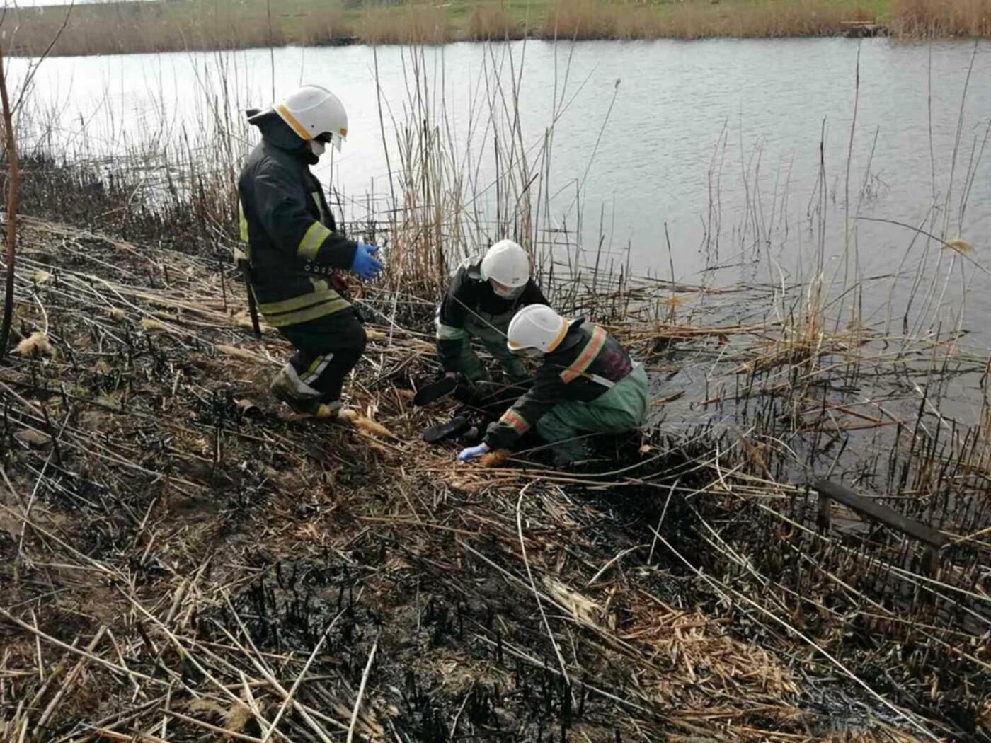 В реке Волчья нашли тело женщины, фото-1