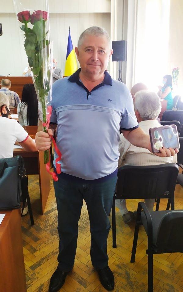 В Павлограде наградили почетным знаком директора одного из коммунальных предприятий, фото-1