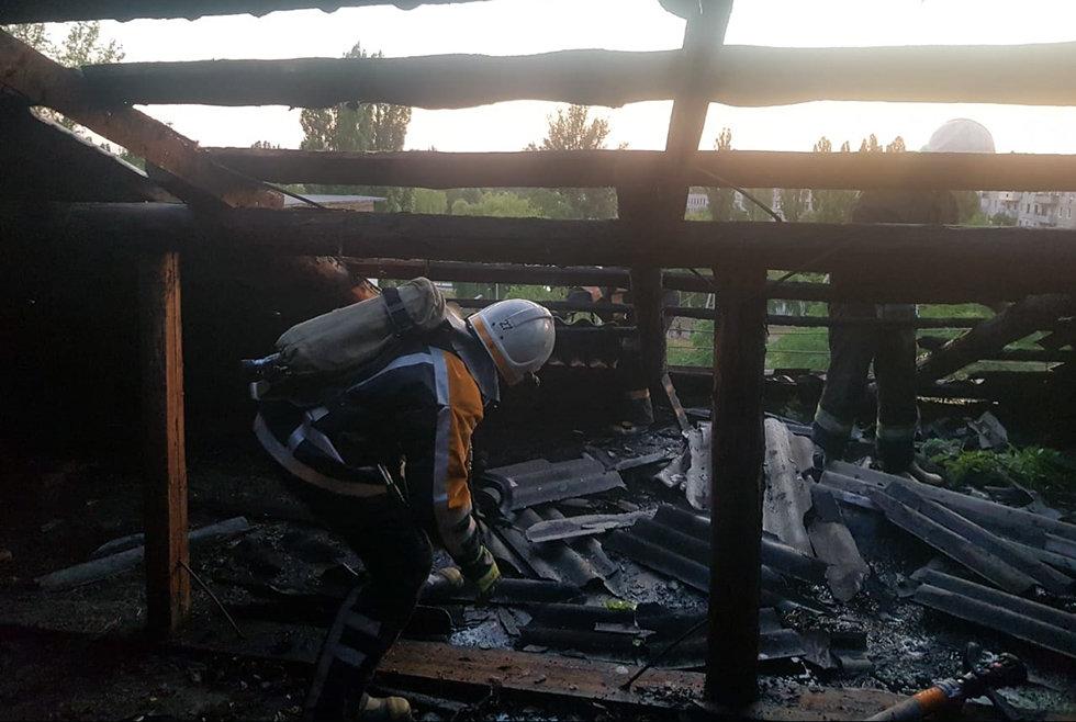 В Павлограде на Западнодонбасской тушили пожар в 5-этажном доме (ФОТО), фото-2
