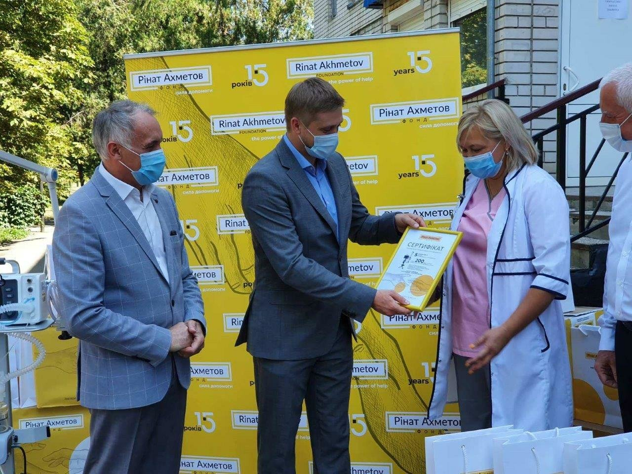 Павлоградской больнице интенсивного лечения передали пять аппаратов искусственной вентиляции легких (ФОТО), фото-2