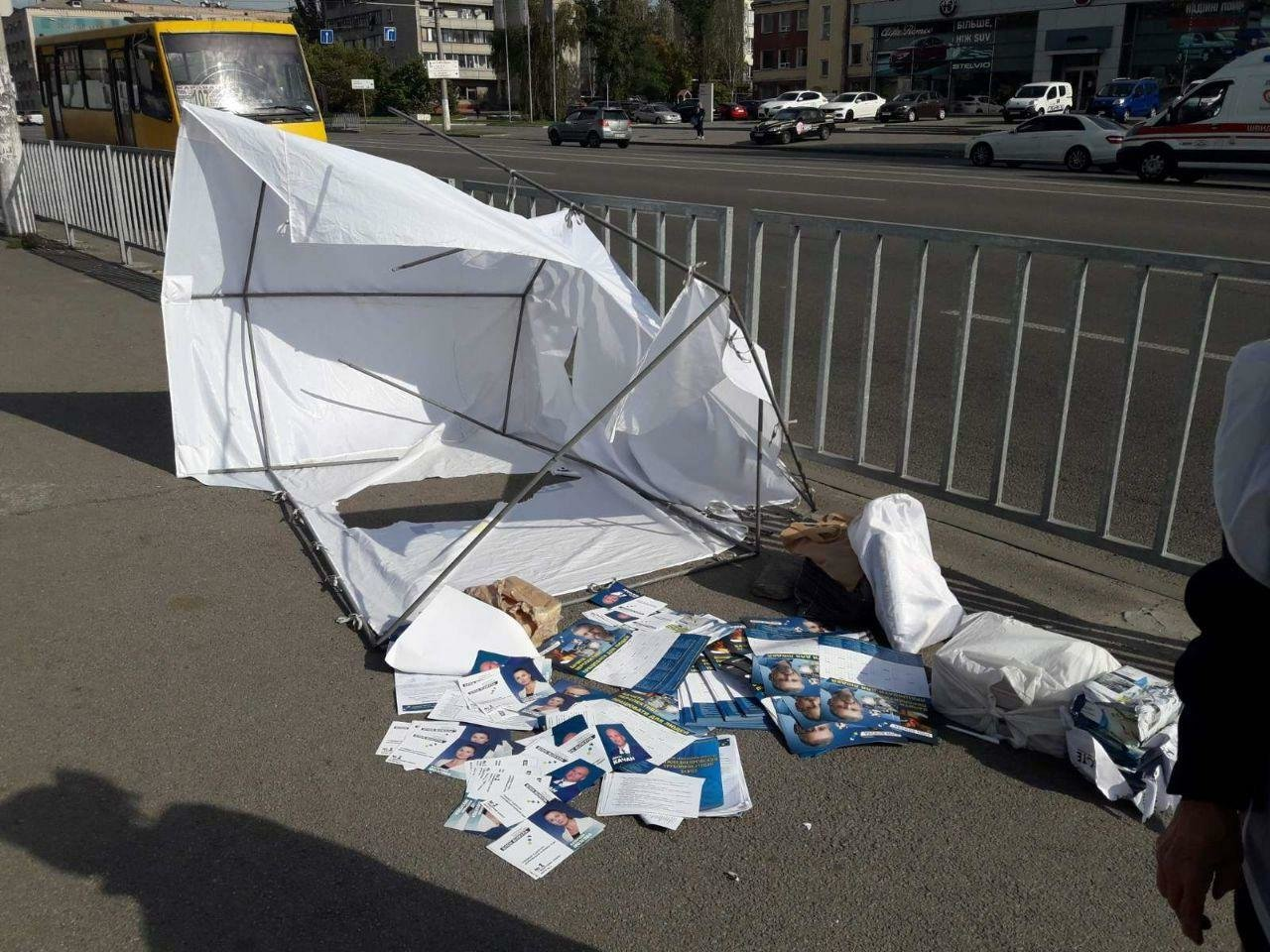 """Вилкул потребовал, чтобы правоохранители дали оценку нападениям на волонтеров Блока """"Украинская перспектива"""", фото-1"""